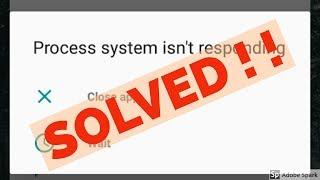 Fix Process system isn
