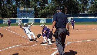 Recap: Three-run bomb sends UCLA softball past Washington