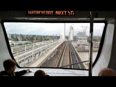 Skytrain Richmond Vancouver