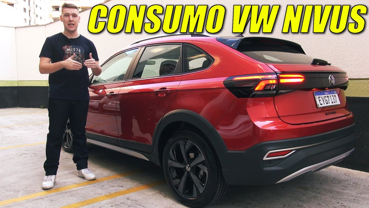 NOVO Volkswagen NIVUS 1.0 fez 19 KM/L!!