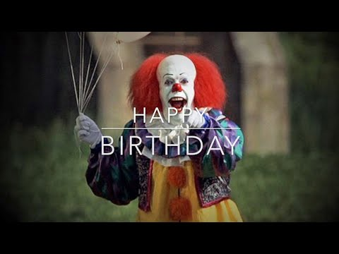 Happy Birthday- Horror Themed