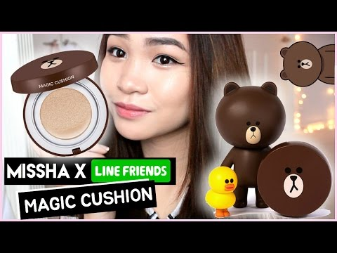 MISSHA X LINE FRIENDS MAGIC CUSHION ✘ First Impression Review +Demo