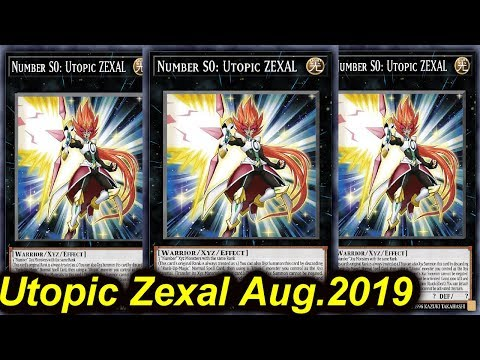 【YGOPRO】 1 CARD UTOPIC ZEXAL AUGUST 2019