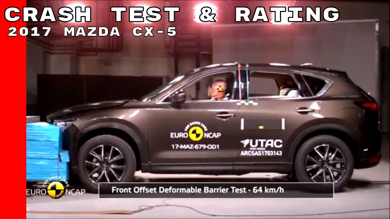 2017 Mazda Cx 5 Crash Test Rating