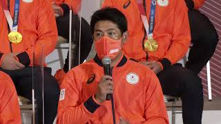【LIVE】メダリスト記者会見 #野球 侍ジャパン