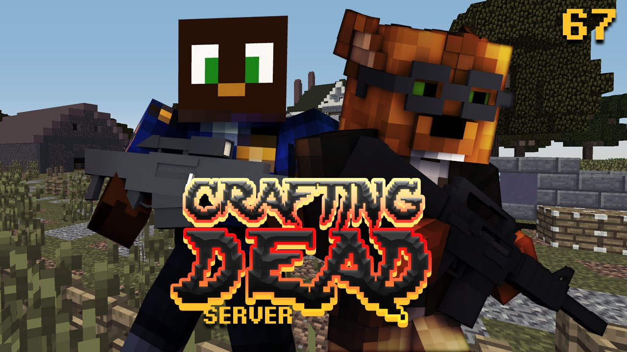 Crafting dead aftermath sniper challenge 67 minecraft for Minecraft crafting dead servers