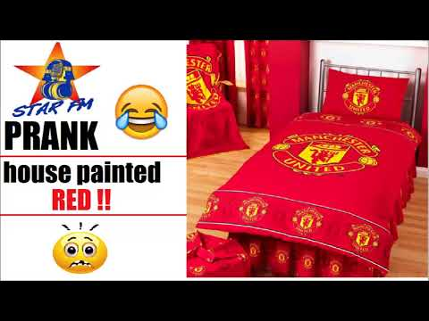 HOUSE PAINTED RED - Star FM prank