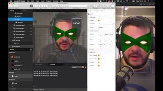 AR: İnstagram Filtreleri - Animasyon Temelleri kıvılcım