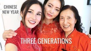 Célébration du Nouvel An chinois avec ma famille!