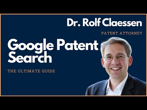 Google Patent Search - the Ultimate Guide to Google Patents - Patents Basics