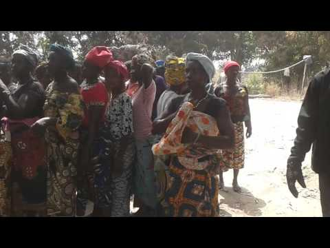 Fire disaster at Balay Woreh Village,  Makarie Gbanti Chiefdom, Bombali district Sierra Leone