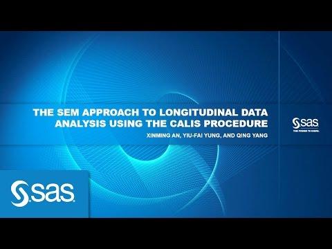 The SEM Approach to Longitudinal Data Analysis Using the CALIS Procedure
