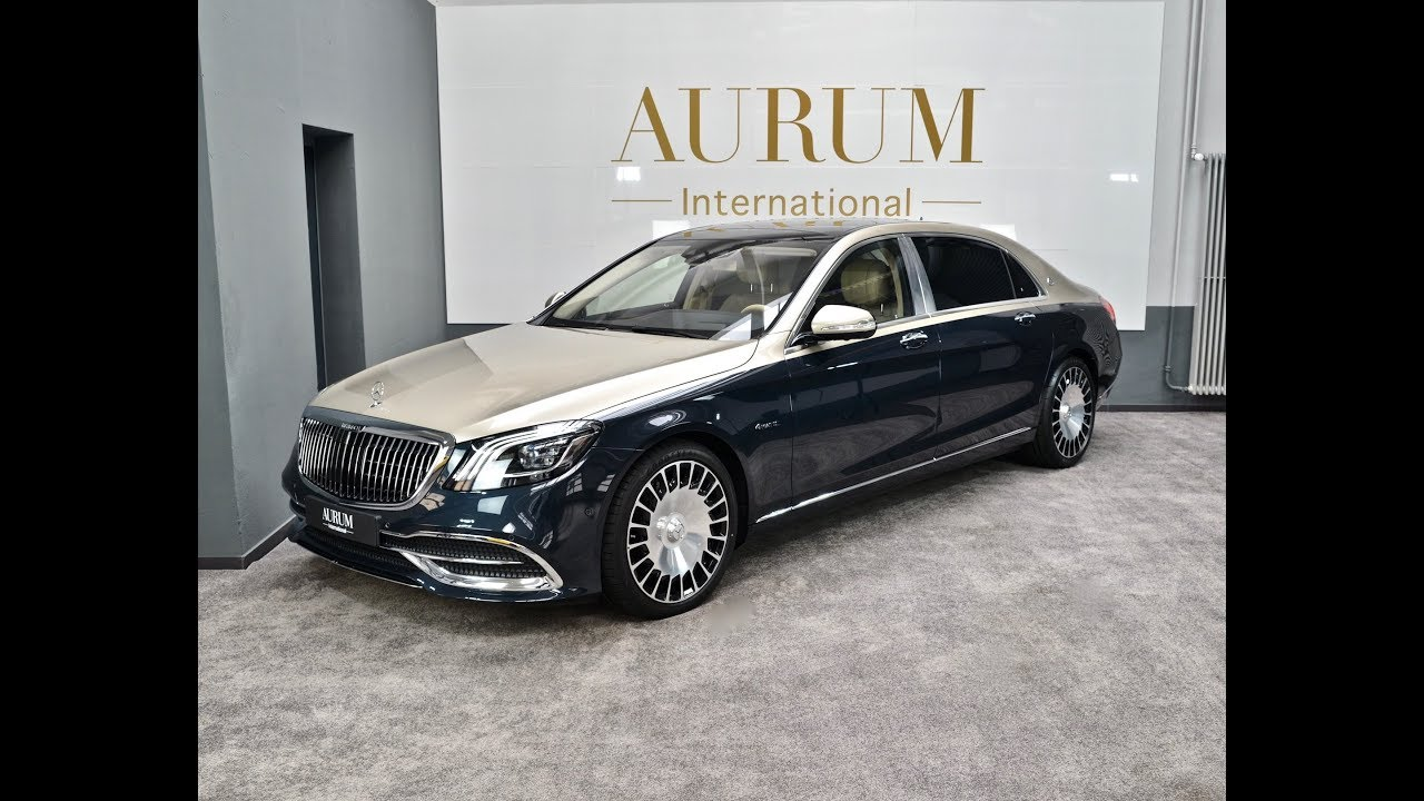 The New Two Tone Mercedes Maybach S 560 4matic Walkaround