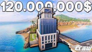 THE CREW 2 - САМЫЙ ДОРОГОЙ ГАРАЖ НА БЕРЕГУ ОКЕАНА ЗА 120.000.000$