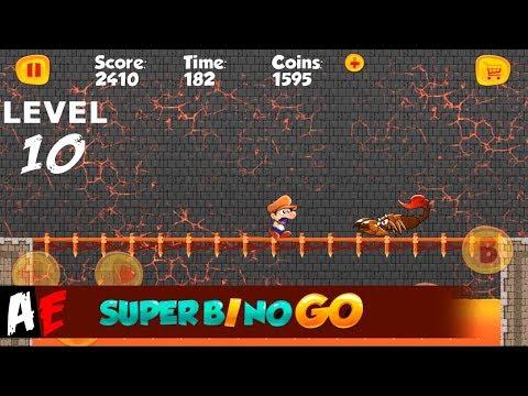 Super Bino Go LEVEL 10