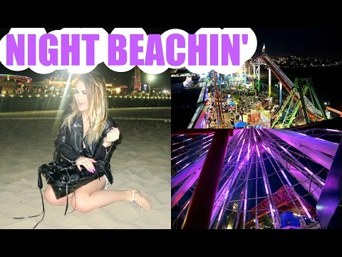 NEW CAMERA, SANTA MONICA PIER, & NIGHT BEACHIN' | DailyPolina