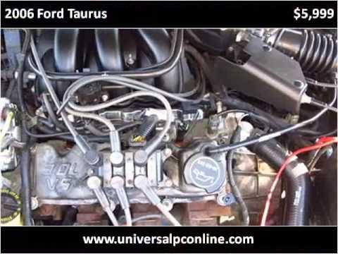 2006 Ford Taurus Used Cars Plant City FL
