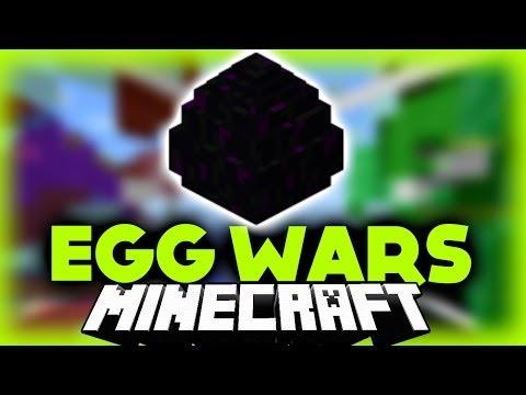 Žaidimas Be Mirčių? #1 EggWars [Minecraft Lietuviškai]