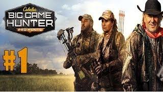 Cabela's Big Game Hunter: Pro Hunts - Walkthrough - Part 1 - Prologue [HD]