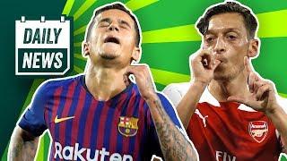 FC Bayern scoutet Lewandowski 2.0! Pogba unterschreibt bei neuem Verein! FC Barcelona: Neues Logo!