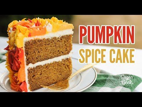 Pumpkin Spice Cake Recipe