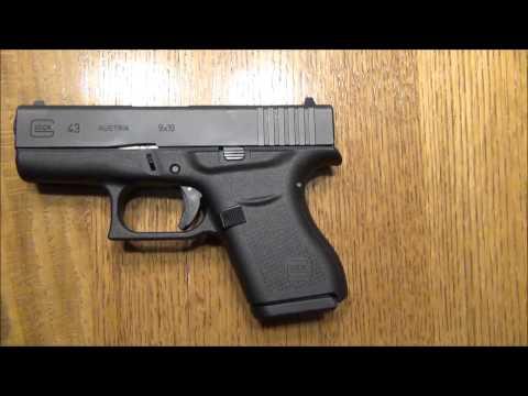 Glock 43 review & size comparison | Doovi