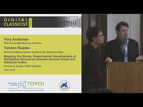 Digital Classicist Seminar Berlin (2015/2016) - Seminar 7