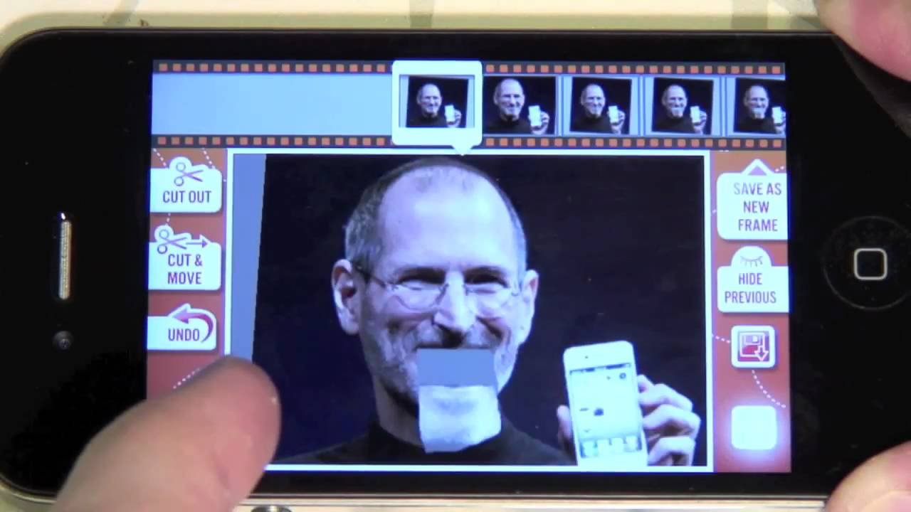 iPhone animation - adding frames to still photos - how to make a ...