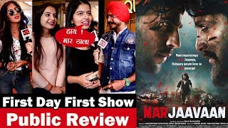 Marjaavaan Movie Public Review | First Day First Show Review | Riteish Deshmukh, Sidharth Malhotra