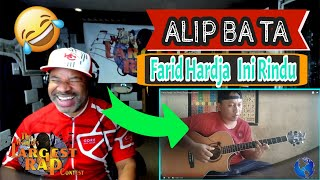 ALIP BA TA Farid Hardja Ini Rindu (Fingerstyle Cover) - Producer Reaction