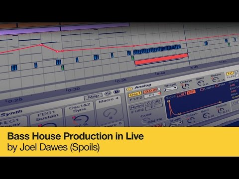 Bass House Production in Live by Joe Dawes (Spoils) - Course Trailer