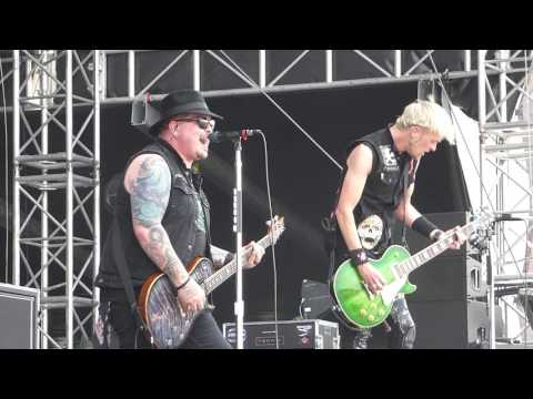 Black Stone Cherry - Blame It on the Boom Boom River City Rockfest LIVE [HD] 5/27/17