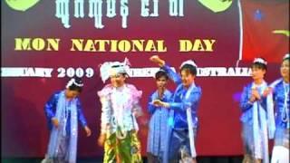 62nd Mon National Day Aye mon san (pu tu chon,dwack toi, chan nyi chan)