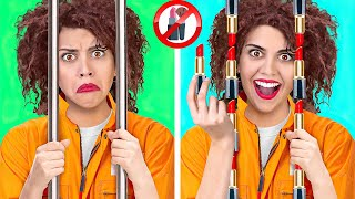 SNEAK ANYTHING YOU WANT || Crazy Hacks To Sneak Food, Make Up, Pets and others with 123 Go! GENIUS