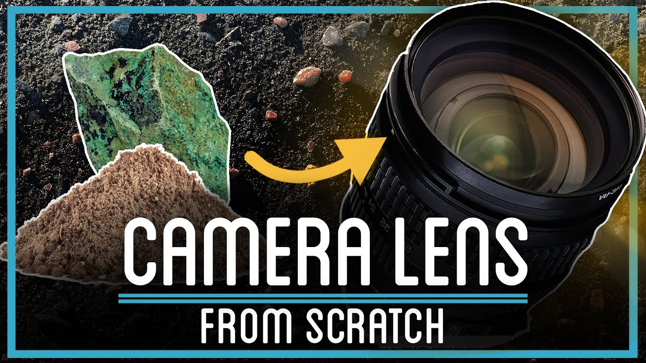Popular YouTube channel creates camera lens from scratch