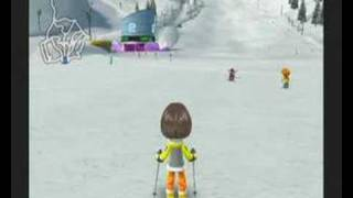 """Family Ski Gameplay - Skiing with """"Style"""""""