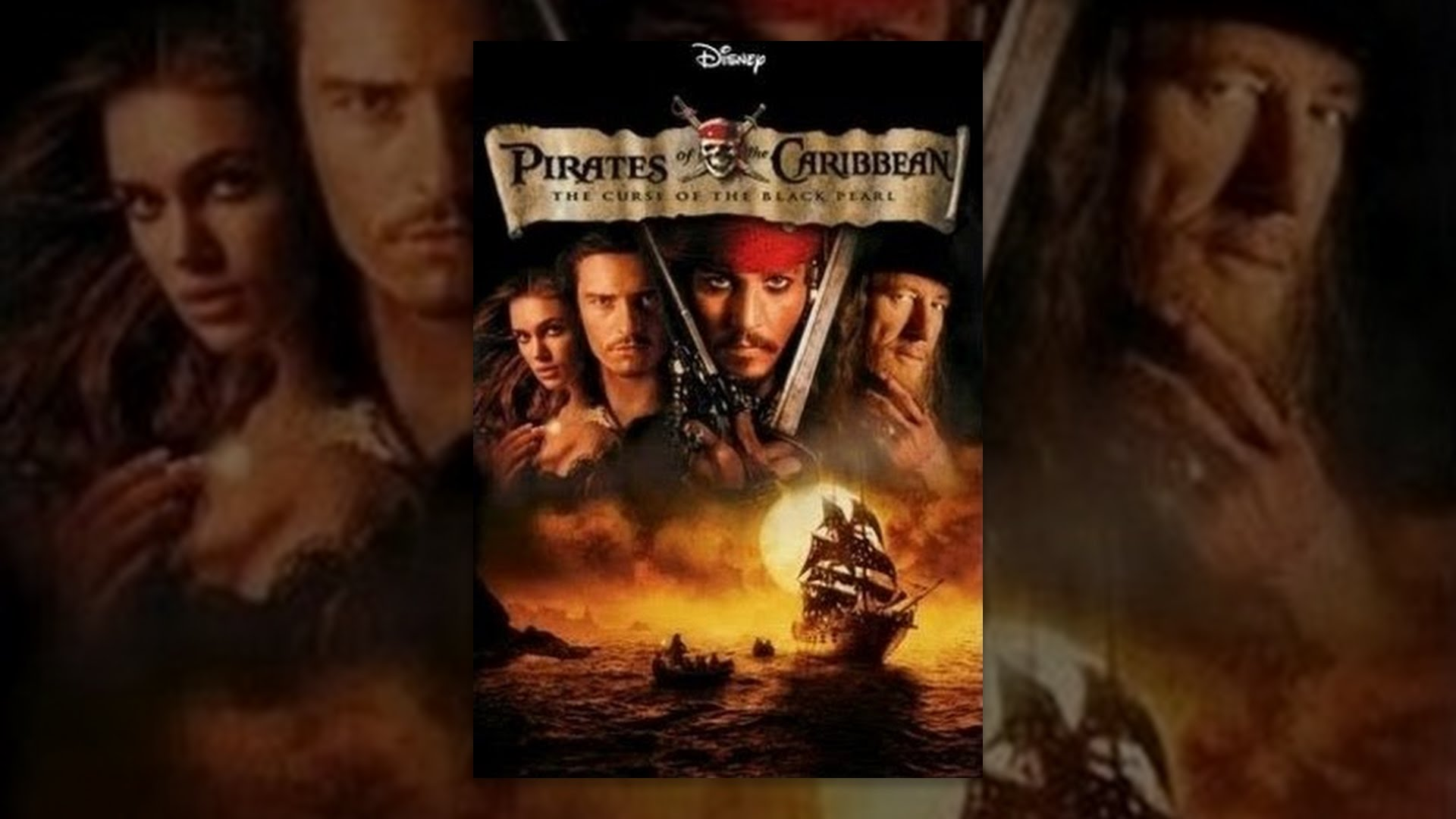 Image result for pirates of the caribbean curse of the black pearl youtube