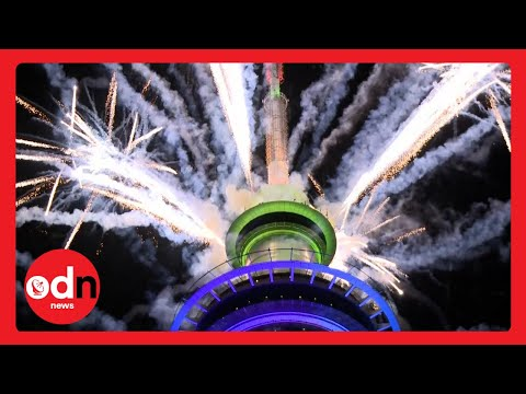 Unbelievable Firework Displays as Countries Around the World Mark New Years Eve