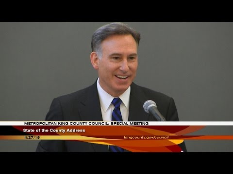 King County State Of The County Address 2015