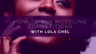 HOW TO BECOME A MODEL : HOW TO WIN MODELING COMPETITIONS