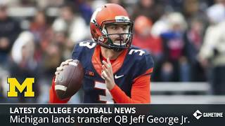 College Football News & Rumors: Michigan Lands New QB Transfer, NCAA Passes New Redshirt Rule