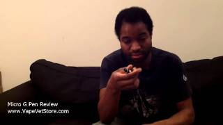 Micro G Pen / Cloud Pen Review: Portable Vaporizer / Vaporizing / Vape Pen Reviews - Vape Vet