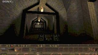Quake - E4M4 The Palace of Hate Nightmare Difficulty