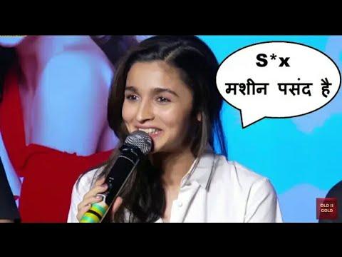 Download सरेआम आलिया ने बोले यह गंदे शब्द।। Aliya Bhatt hot interview oops moments