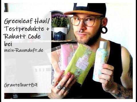 Greenleaf Haul /Testprodukte+Rabatt Code Bei Mein-Raumduft.de
