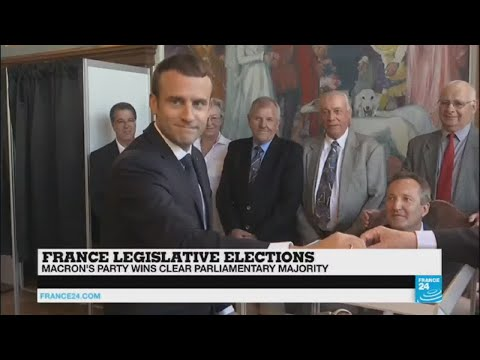 "French Legislative election: ""A majority lower than expected, but still unprecedented"""