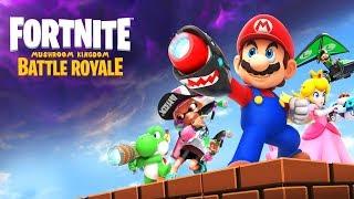 MARIO Fortnite Battle Royale Annoucement *LEAKED*!