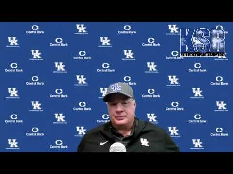 Mark Stoops   Post-Georgia Press Conference