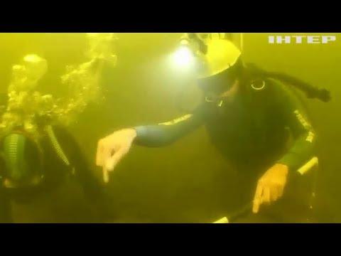 В Херсонской области на дне реки обнаружили древние корабли