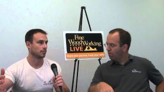 Asa Christiana Talks About Fine Woodworking Live 2012